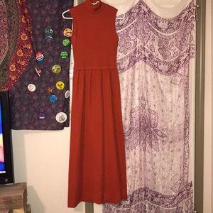 Dresses & Skirts - Vintage Burnt Orange Dress